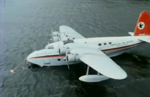 Flying Boat Glengarriff Bantry Bay 1977